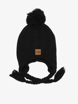 Urban Classics Wintermuts Pompom zwart