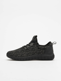 Urban Classics Zapatillas de deporte Knitted Light negro