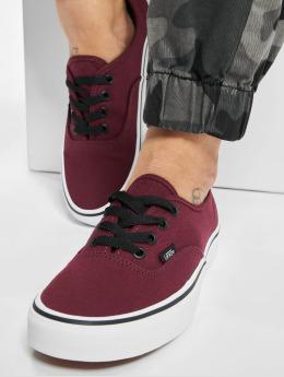 Vans Сникеры Authentic красный