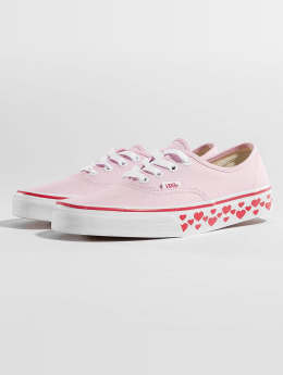 Vans Sneaker Authentic Hearts Tape rosa