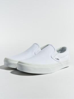 Vans Tøysko Classic Slip-On hvit