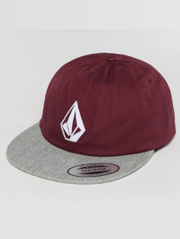 Volcom Casquette Snapback & Strapback Stone Battery rouge