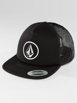 Volcom Casquette Trucker mesh Full Frontal Cheese noir