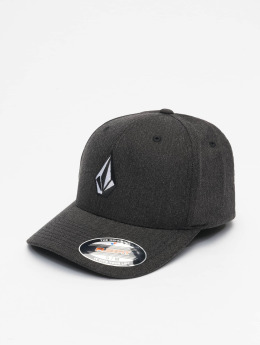 Volcom Flexfitted-lippikset Full Stone Heather Flexfitted harmaa