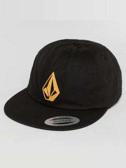 Volcom snapback cap Stone Battery zwart