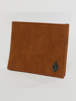 Volcom Wallet Slim Stone brown