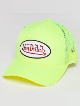 Von Dutch Кепка тракер Trucker желтый