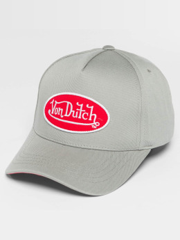 Von Dutch snapback cap Classic grijs