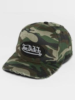 Von Dutch Snapback Cap Strapback mimetico