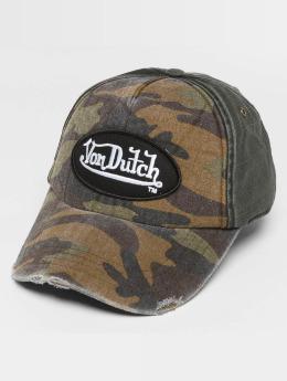 Von Dutch Snapback Caps Velcro kamufláž