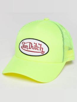 Von Dutch trucker cap Trucker geel