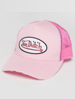 Von Dutch Trucker Cap Trucker pink