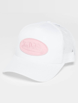 Von Dutch Trucker Caps Classic hvit