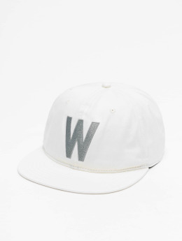 Wemoto Snapback Cap Boston bianco