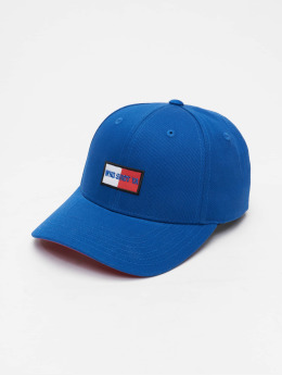 Who Shot Ya? Snapback Cap  Daddy Fit blau