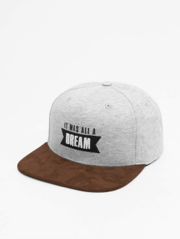 Who Shot Ya? Snapback Cap Dream grau