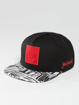 Who Shot Ya? snapback cap Zebra zwart