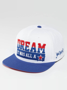 Who Shot Ya? Snapback Caps Dream valkoinen
