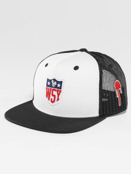 Who Shot Ya? trucker cap Collogebro zwart