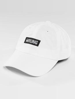 Wrung Division Snapback Cap Small Box white