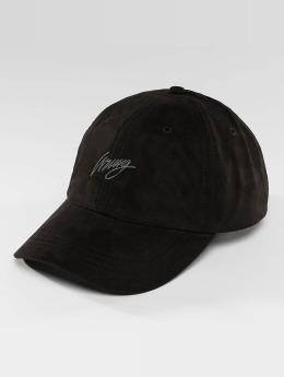 Wrung Division snapback cap Daim zwart