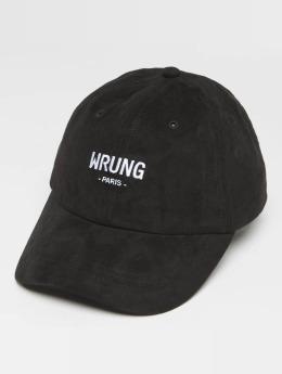 Wrung Division Snapback Caps Casual musta