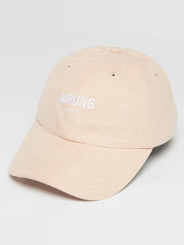 Wrung Division Snapback Caps Casual rózowy