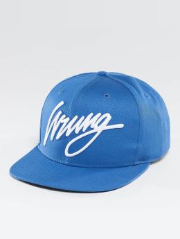 Wrung Division Snapback Caps Sigle sininen