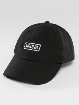Wrung Division Snapback Caps Small Box svart