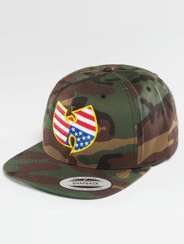 Wu-Tang Gorra Snapback American camuflaje