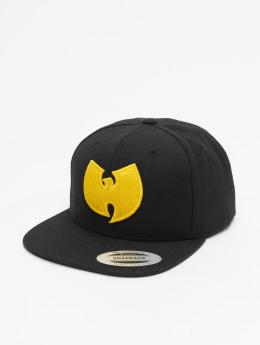 Wu-Tang Snapback Cap Logo schwarz