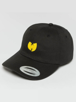 Wu-Tang Snapback Caps Logo Dad svart