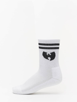 Wu-Tang Socken Logo weiß