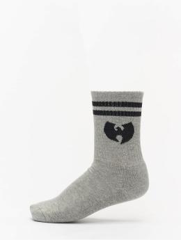Wu-Tang Socks Logo gray
