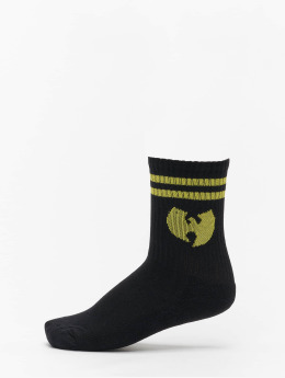 Wu-Tang Sokken Logo zwart