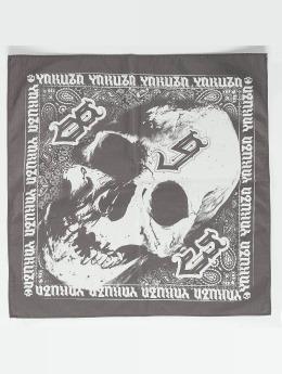 Yakuza Šatky Bandana/Duragy Skull šedá