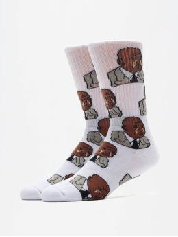 40s & Shorties Ponožky The Greatest  biela