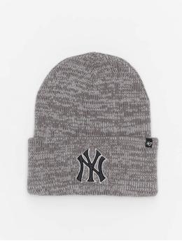 47 Brand Beanie MLB New York Yankees Brain Freeze  grau