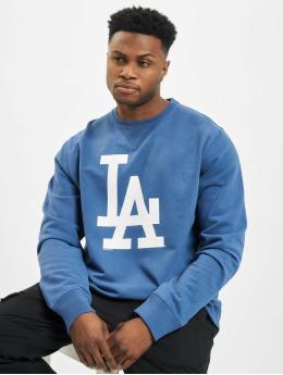 47 Brand Pullover MLB Dodgers Co Sign Crew  blau