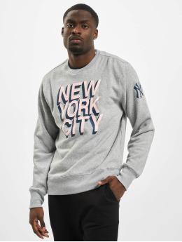 47 Brand Pullover New York Yankees Two Peat Headline  grau