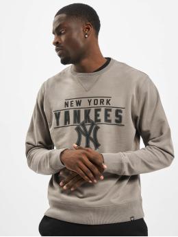 47 Brand Pullover MLB Yankees Top Striker Crew grau