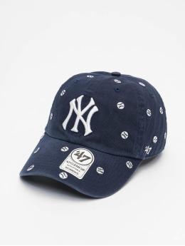 47 Brand Snapback Cap Yankees Confetti Clean Up blau