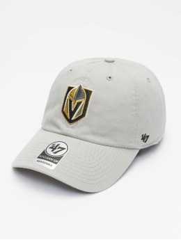 47 Brand Snapback Cap NHL Vegas Golden Knights Clean Up  grau