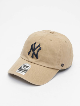 47 Brand Snapback Cap MLB Clean Up khaki