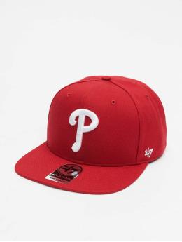 47 Brand Snapback Cap Philadelphia Phillies rot