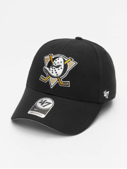 47 Brand Snapback Cap NHL Anaheim Ducks MVP schwarz