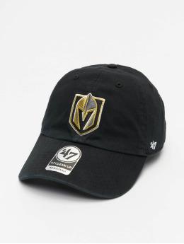 47 Brand Snapback Cap NHL Vegas Golden Knights Clean Up schwarz