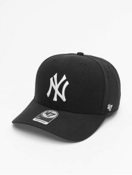 47 Brand Snapback Cap MLB New York Yankees Cold Zone MVP DP schwarz