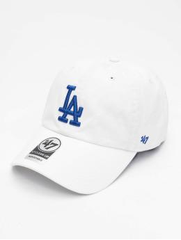 47 Brand Snapback Cap MLB Los Angeles Dodgers Clean Up  weiß