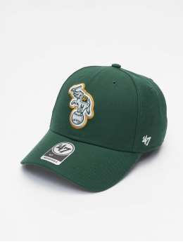 47 Brand Trucker Cap MLB Oakland Athletcis MVP  grün